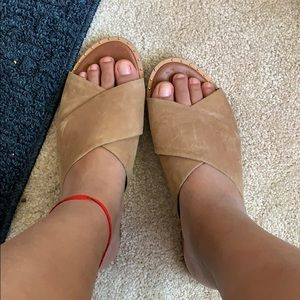 Sandals camell